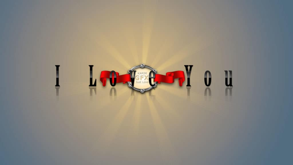I love you HD Images Free