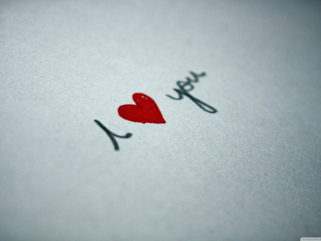 I love you HD Wallpaper Picture