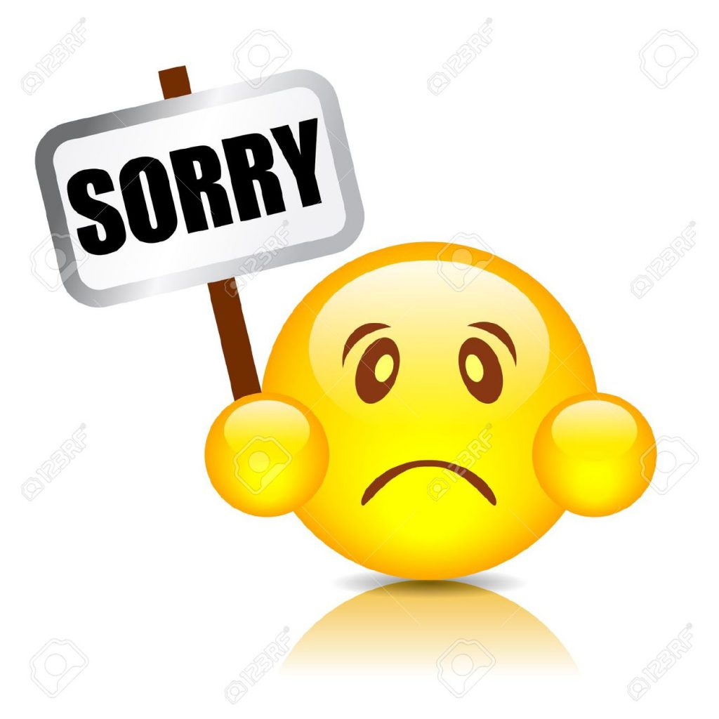 Lovely Apology sorry images emoji to Make Her smile