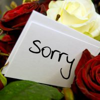 Cute Apology Messages to a Lover with Sorry Images