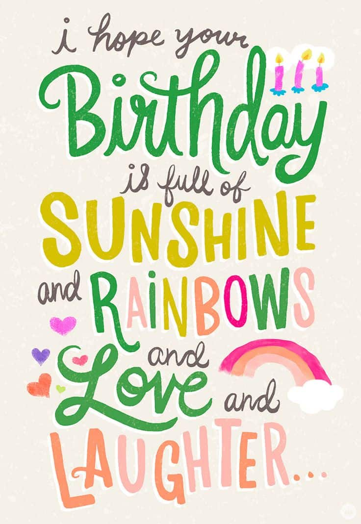 50 Cute Happy Birthday Wishes And Images For Lovers - iLove