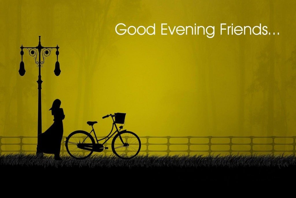 Good evening love quotes images wallpaper