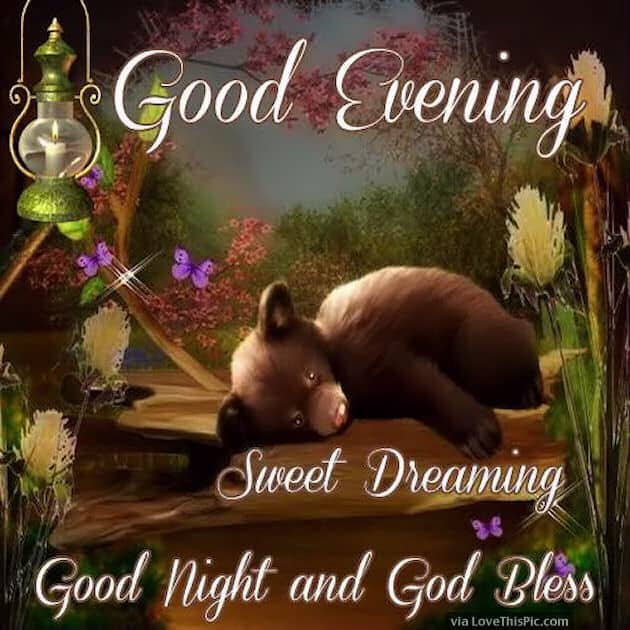Good evening sweet dreams images