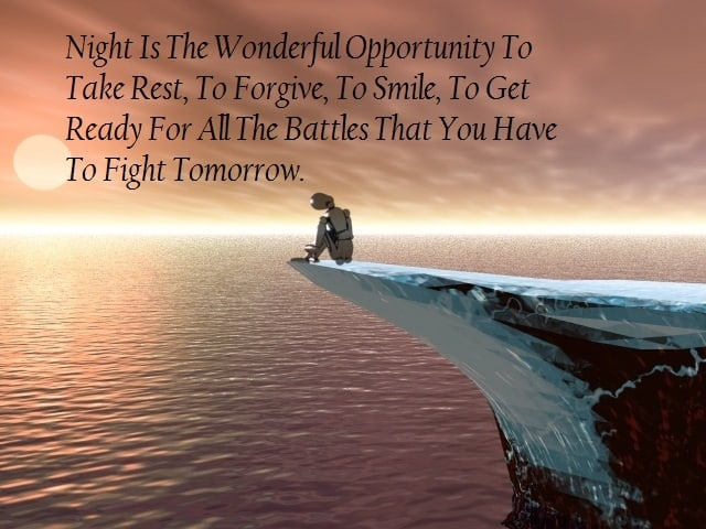 Beautiful good evening quote 2 picture quote facebook
