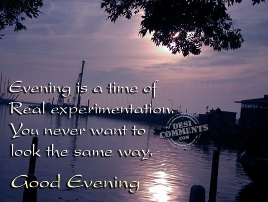 Good evening my love quotes pictures