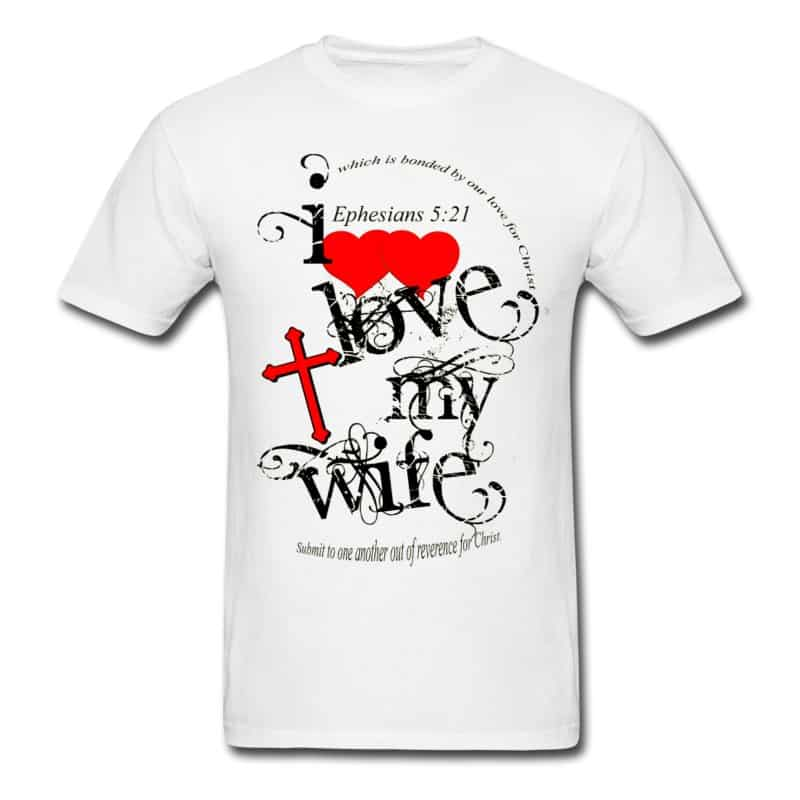 I love my wife men t-shirt download
