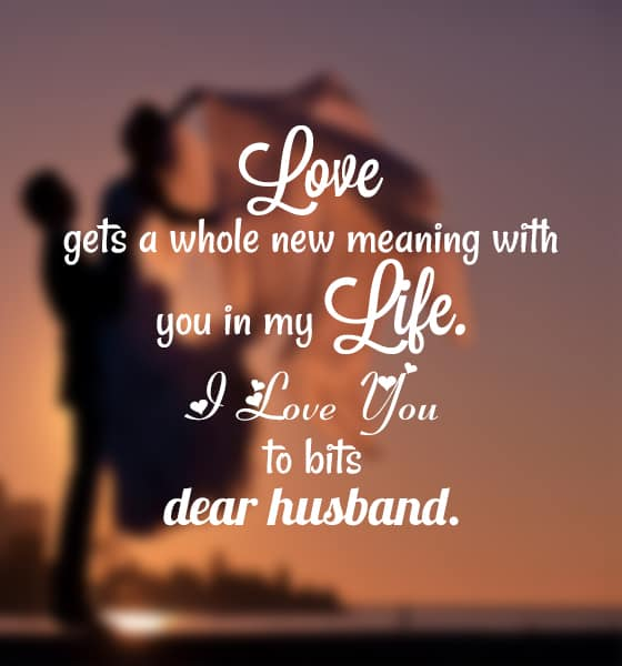 Romantic Love Messages For My Husband With Images - iLove