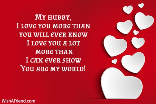 Love quotes and images for husband
