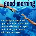 Good morning intelligent people quote photo