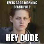 Awesome good morning meme for boyfriend