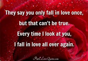 Love quotes with image for her