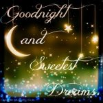 Good night and sweetest dreams images