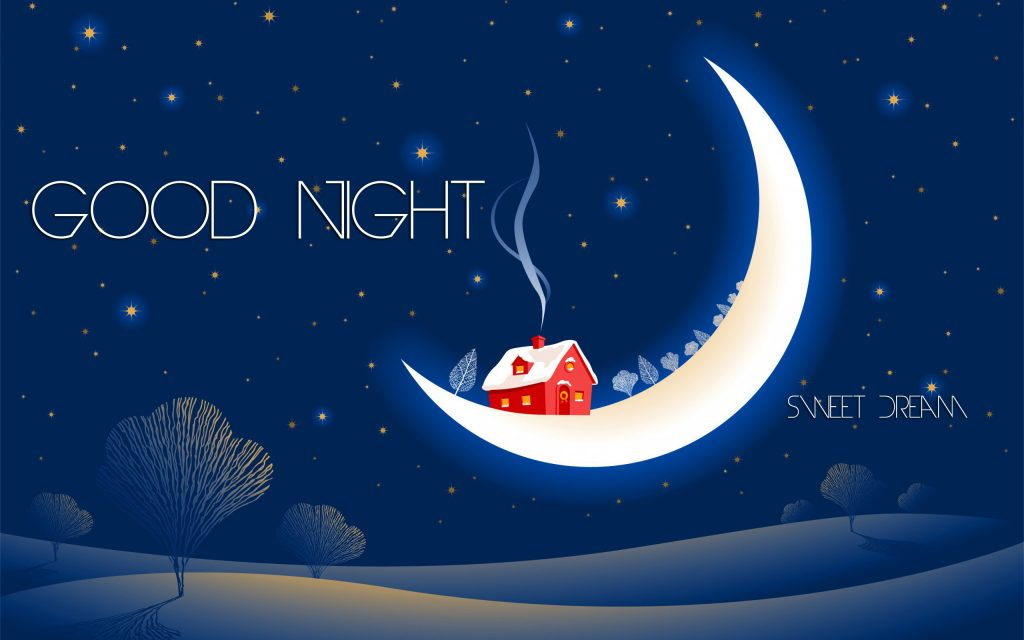 Good night sweet dream hd wallpaper - sweet good night quotes