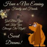 Have a nice evening quote photo