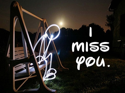 100 Cute 'I Miss You' Quotes for Him & Her with Images