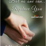 No one can replace you miss you picture