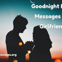 Goodnight love messages for girlfriend