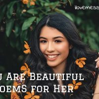 You are beautiful poem for her with images
