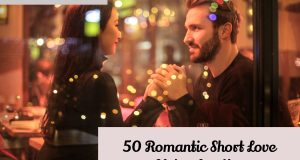 50 romantic short love notes for her