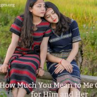 How much you mean to me quotes for him and her