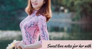 Sweet love notes for her with funny love memes for her