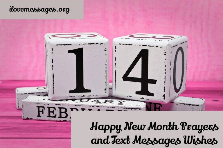 Happy new month prayers and text messages wishes