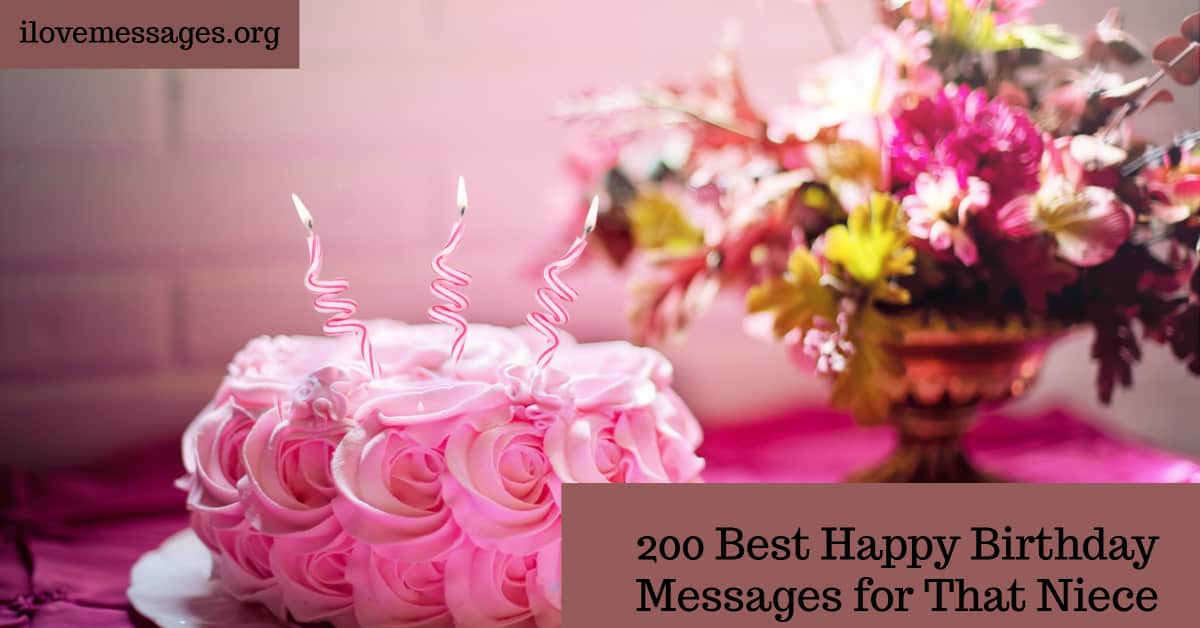 200 best happy birthday messages for that niece