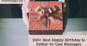 200 best happy birthday to father in law messages