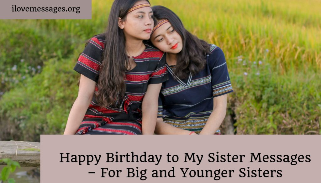 Fine Happy Birthday To My Sister Messages For Big And Younger Sisters Funny Birthday Cards Online Fluifree Goldxyz