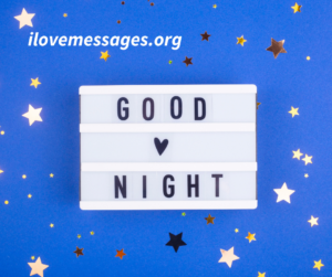 Good Night Quotes To Post On Facebook